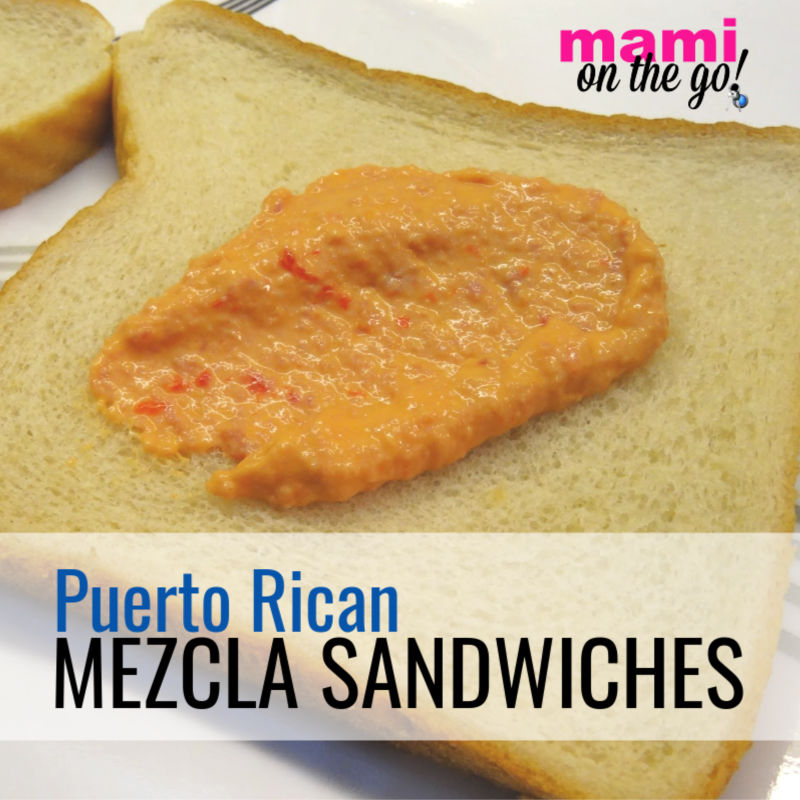 Puerto Rican Mezcla Sandwiches | @mamionthego