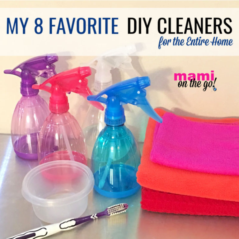 My 8 Favorite DIY Cleaners for the Entire Home